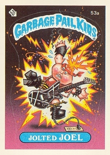 The 80s wallpaper containing anime titled Garbage Pail Kids