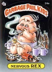 os 80s wallpaper entitled Garbage Pail Kids