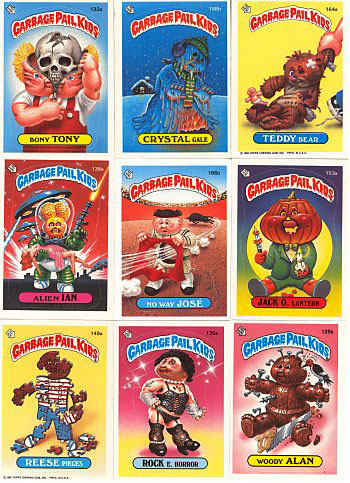 The 80s wallpaper entitled Garbage Pail Kids