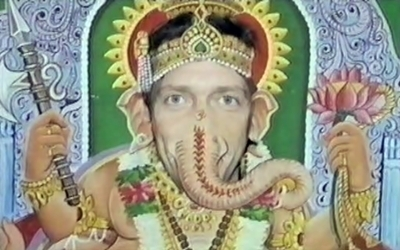 Hugh as Ganesh