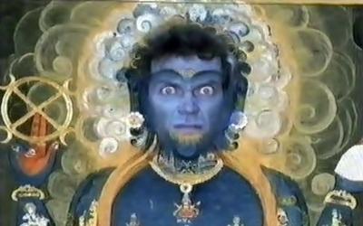 Hugh as Vishnu