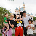 Hugh & family @ Disneyland