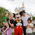 Hugh & family @ Disneyland