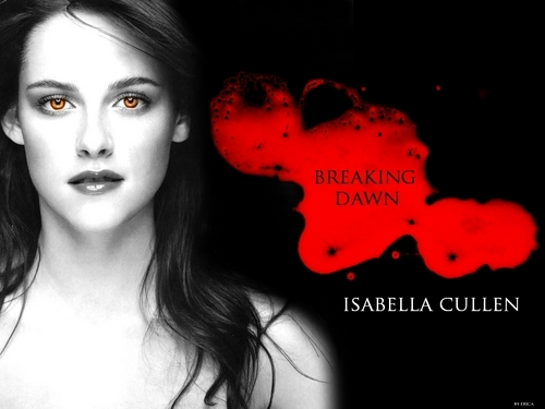 Edward and Bella wallpaper called Isabella Cullen ll Breaking Dawn(fanmade)