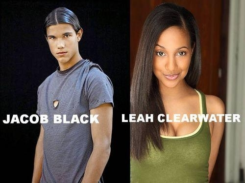 Jacob Black and Leah Clearwater
