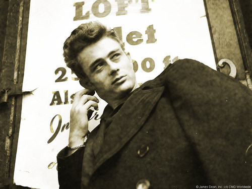James Dean wallpaper possibly containing a sign, a business suit, and a street entitled James Dean