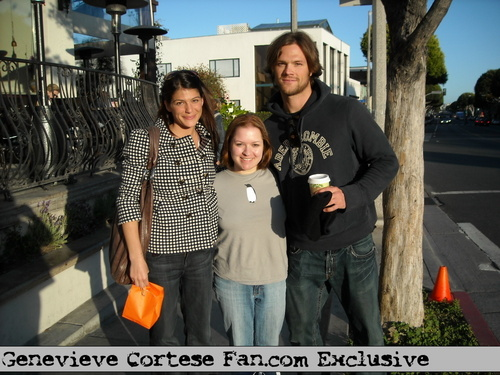 Jared and Genevieve's exclusive photos