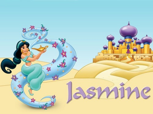 Aladdin wallpaper titled Jasmine Wallpaper