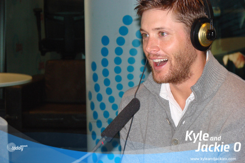 Jensen on Kyle & Jackie O Show- Sydney