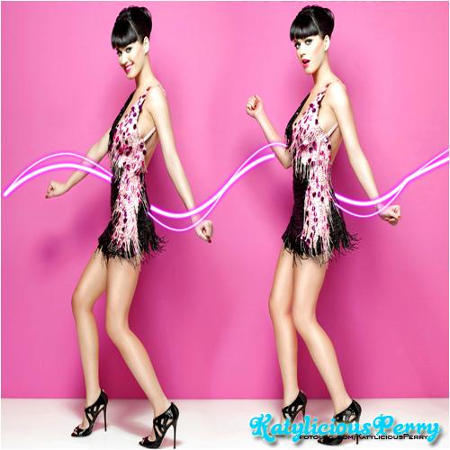 Katy Perry karatasi la kupamba ukuta probably containing a cocktail dress titled Katy*