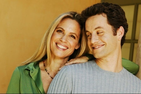 Kirk Cameron &  Chelsea Noble - growing-pains Photo