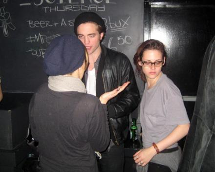 Kristen Stewart, Robert Pattinson, Nikki Reed at The Metropole club in Vancouver