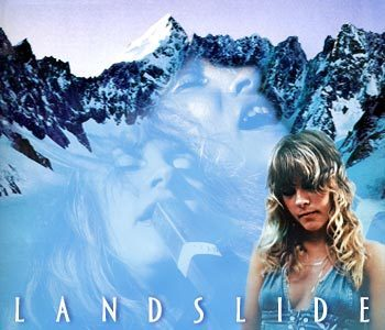 stevie nicks wallpaper possibly containing a ski resort, an igloo, and a portrait titled Landslide