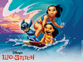 Lilo and Stitch 바탕화면