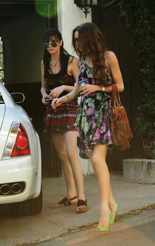 Lindsay with Ali