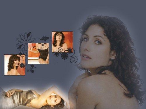 Lisabians Hintergrund containing skin entitled LisaE_wallpaper