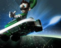 Luigi Galaxy - nintendo wallpaper