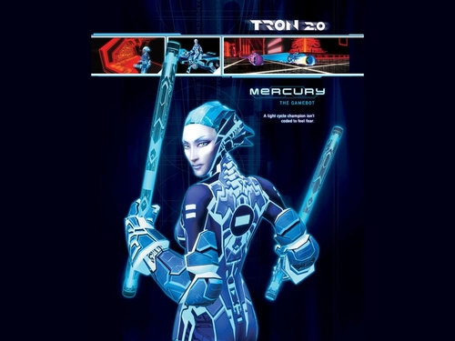 Mercury from Tron 2.0 game