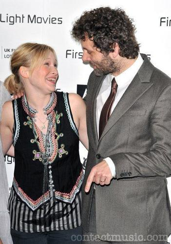 Michael Sheen and Joanna Page at the First Light Movie Awards