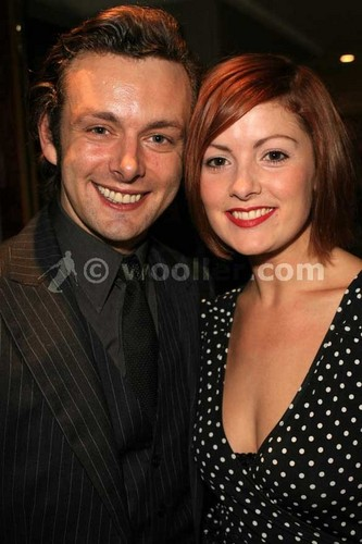 Michael Sheen and Lorraine Stewart at the Frost/Nixon afterparty