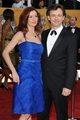 Michael Sheen and Lorraine Stewart