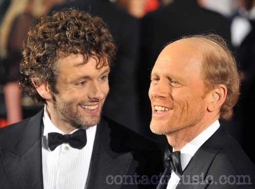 Michael Sheen and Ron Howard at The Times BFI Londres Film Festival