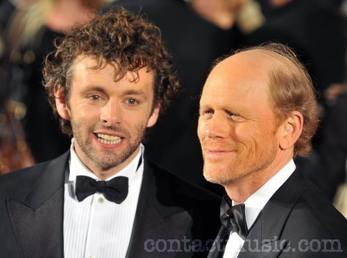 Michael Sheen and Ron Howard at The Times BFI london Film Festival