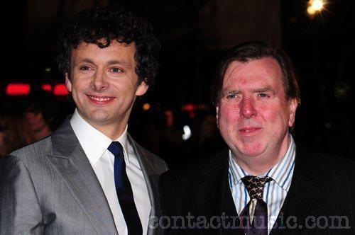Michael Sheen and Timothy Spall at the Damned United Premiere