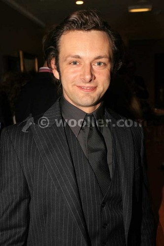 Michael Sheen at the Frost/Nixon afterparty
