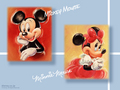Mickey Mouse and Minnie Mouse Wallpaper - mickey-and-minnie wallpaper