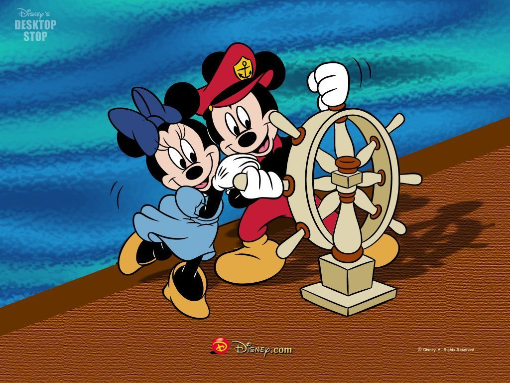 Mickey and minnie wallpaper disney wallpaper 5775675 fanpop - Minni et mickey ...