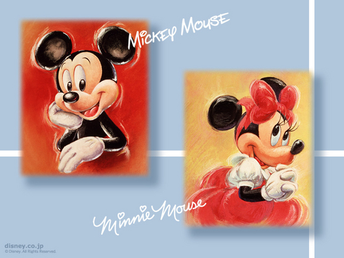 Mickey and Minnie 壁紙