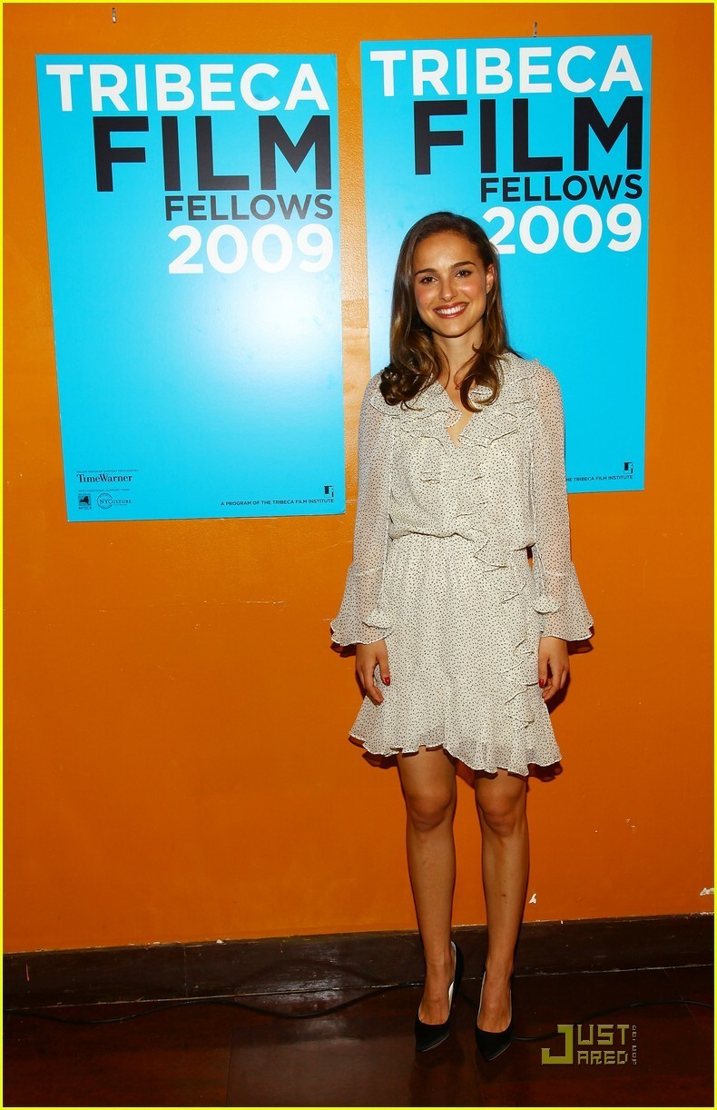 Natalie Portman attends the Tribeca Film Festival 2009