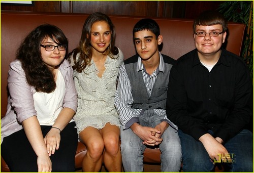 Natalie Portman attends the Tribeca Film Festival 2009