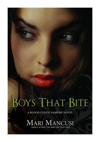 Boys That Bite (New Book Cover!)