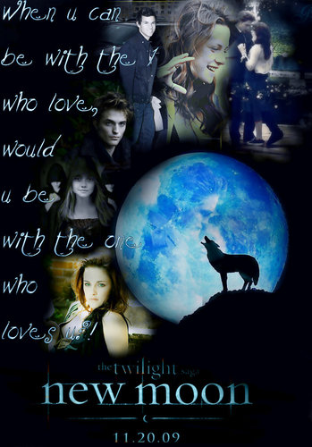 Twilight Series images New moon Poster ;] HD wallpaper and background photos