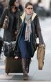 Nikki Reed leaving Vancouver - April 20 - twilight-series photo