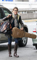Nikki Reed leaving Vancouver - April 20 - twilight-series photo
