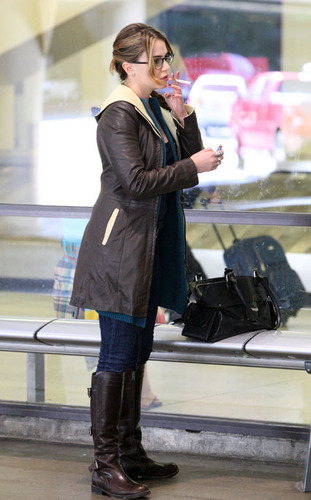 Nikki Reed's LAX Arrival - nikki-reed Photo
