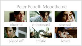 Peter kunst van een fan