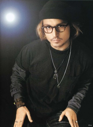 Johnny Depp wallpaper probably containing an outerwear and a leisure wear called Photoshoot 2003