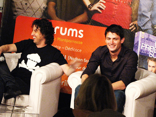 Pictures James Lafferty and Mark Schwahn