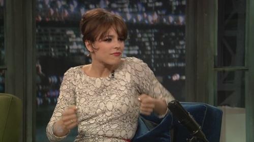 Rachel on Late Night with Jimmy Fallon - 4/17/09