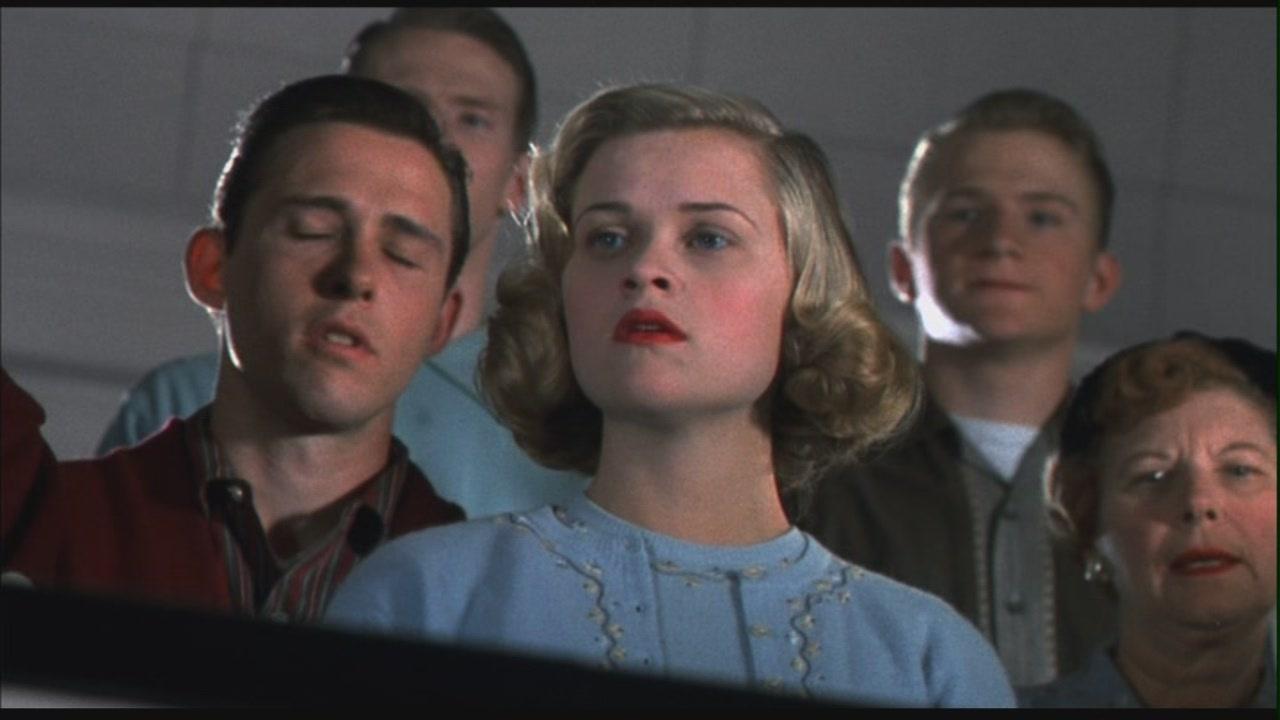 %ef%bb%bfpractice analysis of pleasantville movie The film 'pleasantville' is about two modern teenagers, david and his sister jennifer, somehow being transported into the television the two characters from the modern world have the role of bringing 'evil' knowledge to the citizen of pleasantville they brought changes to the town, adding colours to it.