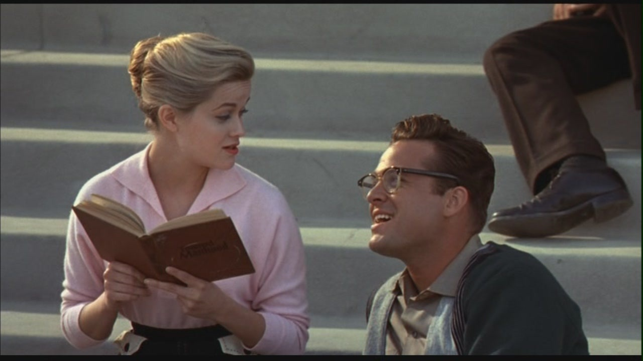 an analysis the film pleasantville in american society Read this essay on pleasantville analysis black and white society from a 50's sitcom without any outside influence film pleasantville in the town.