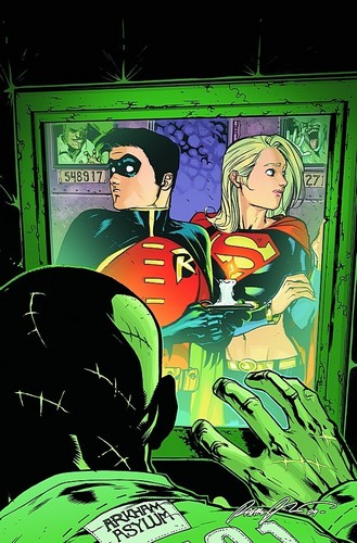 Robin and Supergirl