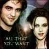 Robert Pattinson & Kristen Stewart photo with a portrait and anime called Robsten ll All that you want