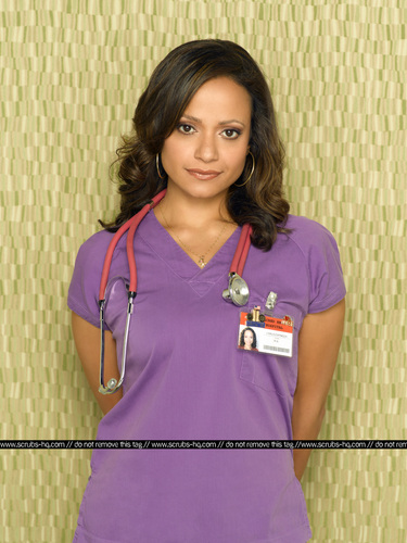 Nurse Carla Espinosa Hintergrund probably containing a portrait titled Season 8 Photoshooot 1