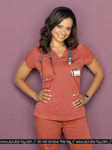 Nurse Carla Espinosa wallpaper possibly containing a portrait titled Season 8 Photoshoot 2