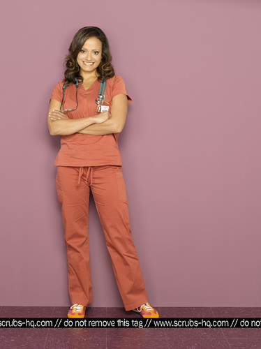 Nurse Carla Espinosa wallpaper possibly containing a well dressed person and a pantleg entitled Season 8 Photoshoot 2